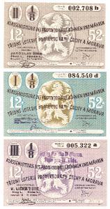 Třídní loterie   52 různé serie
