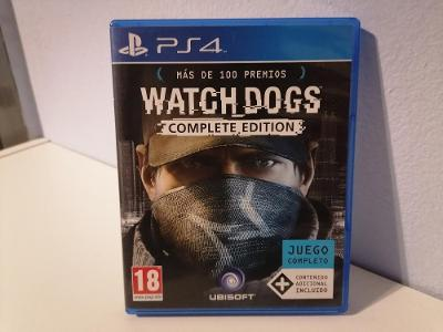 WATCH DOGS COMPLETE EDITION - PS4 - PLAYSTATION 4