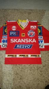 Starší dres HC Slavia Praha - Radek Duda - s podpisem