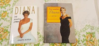 DIANA 2x kniha ,proč zemřela,její pravdivý příběh