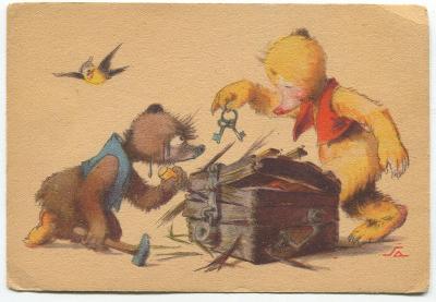 SALAČ č. 1117 - Medvídci otevírají bednu
