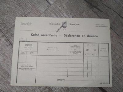 Stará poštovní poukázka