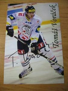 Tomáš Voráček - Liberec - orig. autogram