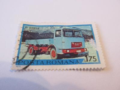 Známky Rumunsko 1975, Rumunský nákladní autombil