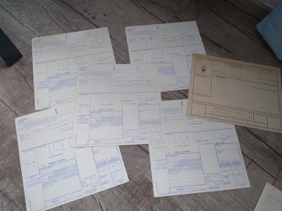 Staré poštovní poukázky