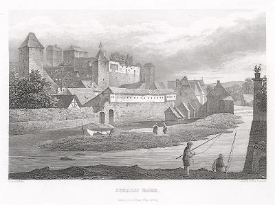 Cheb, Gerle, oceloryt, 1842