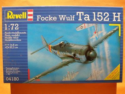 FOCKE WULF Ta 152 H / německá stíhačka - letecký model  LETADLO REVELL