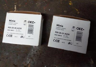 stykače 2ks oez  nové nepoužité RSI 25