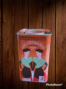 Mletá uzená paprika -pálivá - Španělsko - 750 g