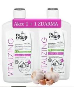 Česnekový šampón 1+1