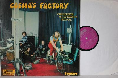 Creedence Clearwater Revival – Cosmo's Factory LP 1970 vinyl + Plakat