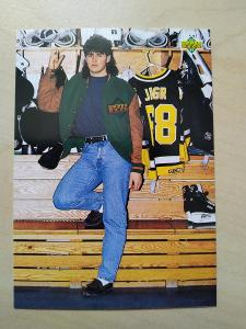 Jaromír Jágr Upper Deck 1992-93 č. 622 Profiles