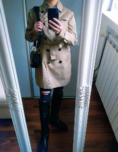Trench coat Hallhuber Top Stav vel 42/XL