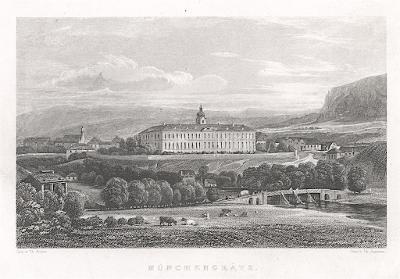 Mnichovo Hradište, Weidmann, oceloryt, 1840