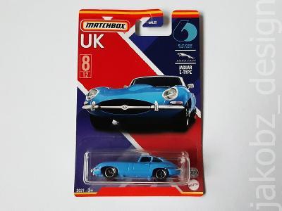 ---- Jaguar E-Type - Matchbox ----------------------------------------