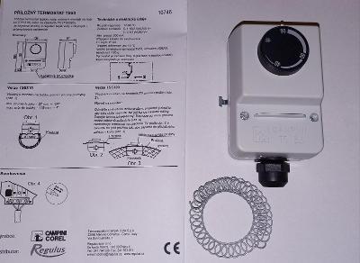 Příložný termostat TS5310 17-90°C