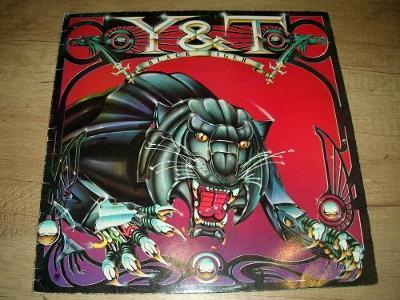 Y&T – Black Tiger (1982) 1.Press UK ,EX-