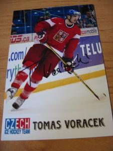Tomáš Voráček - ČR - orig. autogram
