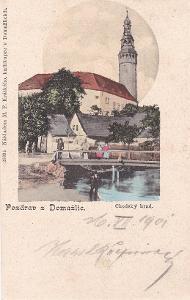 DOMAŽLICE - CHODSKÝ HRAD - 8-AD87