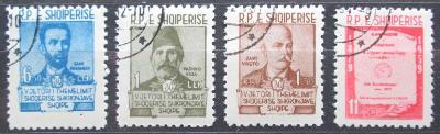 Albánie 1960 Osobnosti Mi# 599-602 Kat 4.50€ 0619