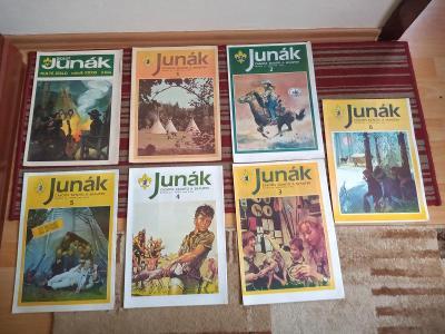 časopisy Junák