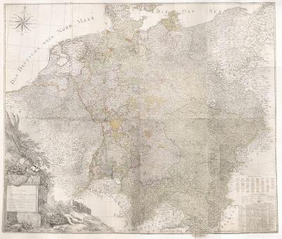 Sotzmann : Německo Čechy, mědiryt 1803