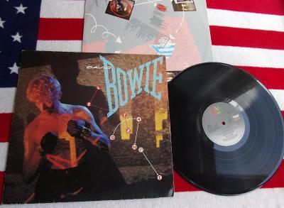 ⭐️ LP: DAVID BOWIE - LET'S DANCE, deska EX++, 1.Press West Germany '83