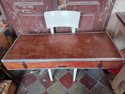 Dřevěná bedna jako kufr 110x45x14 (15590P)