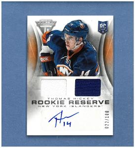Thomas Hickey - New York Islanders - jersey + autographed