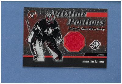 Martin Biron - Buffalo Sabres - jersey