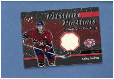 Saku Koivu - Montreal Canadiens - jersey