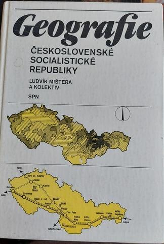 Geografie ČSSR, vyd. 1985, zeměpis