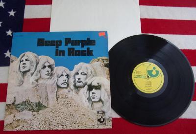 💥 LP: DEEP PURPLE - IN ROCK, jako nové MINT!!! Holland pressing ℗1970