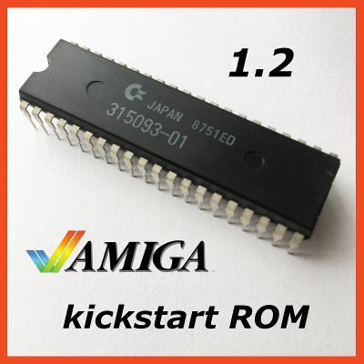 AMIGA kickstart ROM 1.2 -- Amiga 500 + 2000