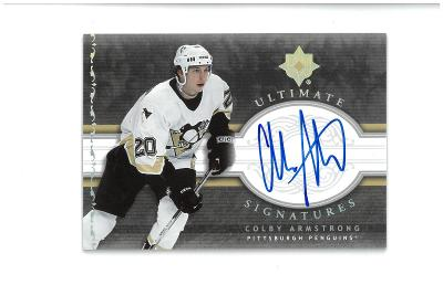 Colby Armstrong - Pittsburgh Penguins - autographed
