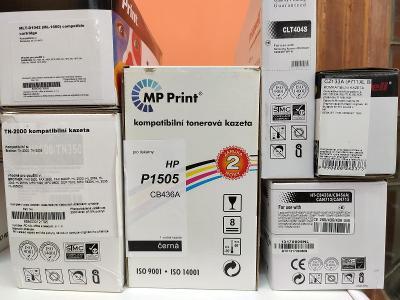 TONERY 30x. Různé modely tiskáren. Nepoužité, zabalené.