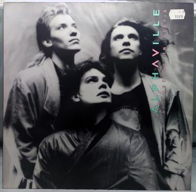 Alphaville – Afternoons In Utopia 1986 Germany Vinyl LP 1.press