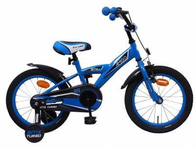 AMIGO BMX Turbo modrá 16 dětské kolo