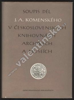 Soupis děl J. A. Komenského v československých... HOL.
