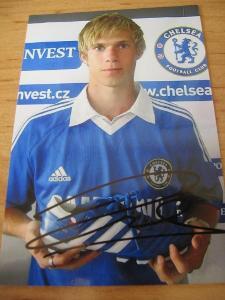Tomáš Kalas - Chelsea - orig. autogram