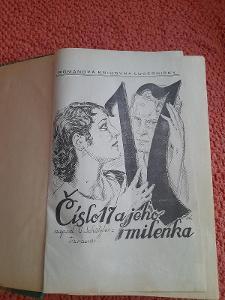 Stará knížka Číslo 17 a jeho milenka, autor G.Schätzler