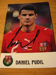 Daniel Pudil - ČR - orig. autogram