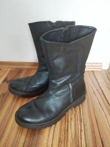 Camel Active boots, kožené kozačky 39