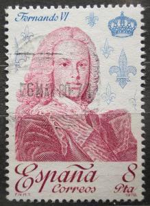 Španělsko 1978 Král Ferdinand VI. Mi# 2390 0620