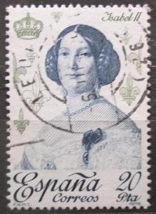 Španělsko 1978 Královna Isabela II. Španělská Mi# 2394 0621