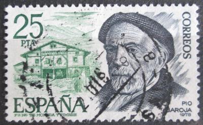 Španělsko 1978 Pío Baroja, básník Mi# 2350 0621