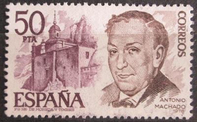 Španělsko 1978 Antonio Machado, básník Mi# 2351 0621