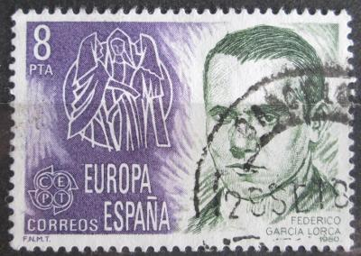 Španělsko 1980 Federico García Lorca, básník Mi# 2460 0621