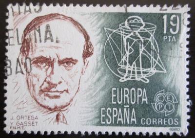 Španělsko 1980 José Ortega y Gasset, filosof Mi# 2461 0621