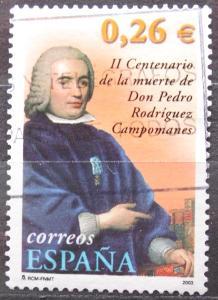 Španělsko 2003 Pedro Rodríguez de Campomanes, politik Mi# 3816 0622